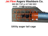 "10"" Utility Auger Tail Cage with Hitch"