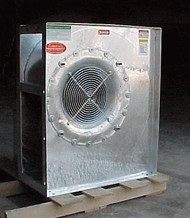 15 HP, SINGLE PHASE CECO GRAIN DRYING CENTRIFUGAL FAN 27""