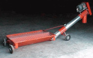 "Self Powered Swing Hopper 6"" to 8"" Incline Auger Roll Around"
