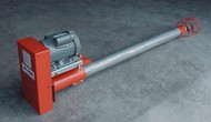"""8"""" Portable Utility Auger 22' long with tail cage Jet Flow"""