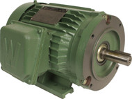 Worldwide Electric Prem EFF 5 hp-3600 rpm-184tc 3 ph