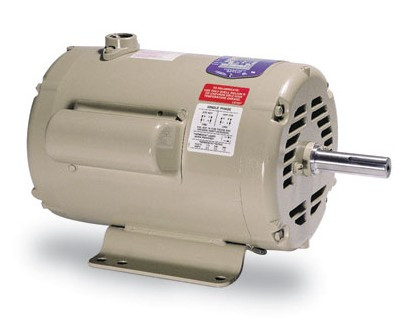 Baldor electric motor for axial fan 7 5 10 hp 1 phase usa for 10 hp single phase motor