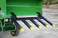 Clamp on Debris Forks 52""