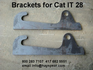 Bracket pair to fit Cat IT 28