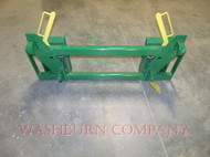 Euro global Loader to Skid Steer-attachments adapter Green