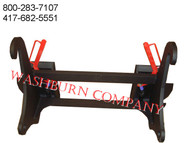 JD 310 SJ Loader To Skid Steer Attachment Hitch Adapter