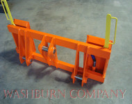 Kubota R520 Loader To Skid Steer Attachments Adapter