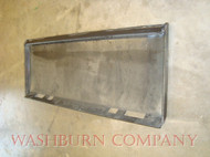 Universal Skid Steer Bobcat style Solid Plate