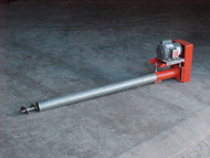 "e8"" Bulk Tank Auger Screw Conveyor, 22' Long"
