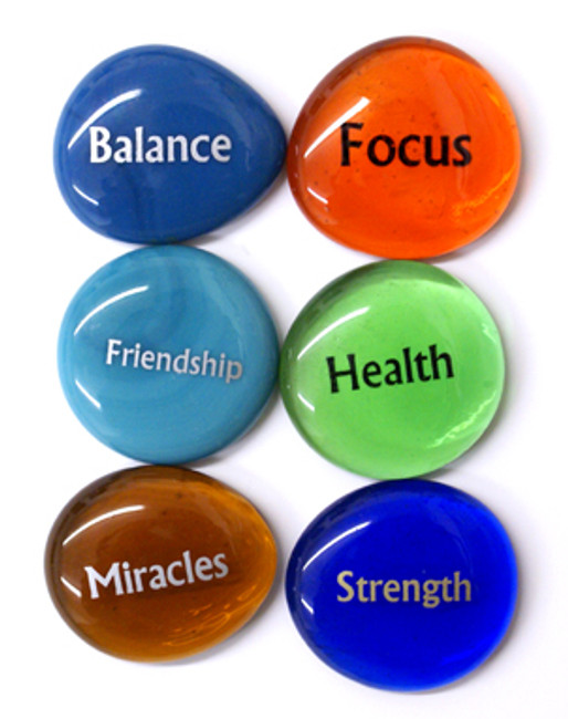 Focus Stones III, set of six stones
