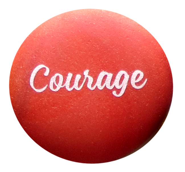 Sea Stone, Courage, from Lifeforce Glass, Inc.