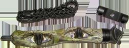 "Trophy Ridge Static 6"" Bow Stabilizer Realtree Xtra Green Camo"