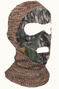 Polar Fleece Face Mask Adventure Gray