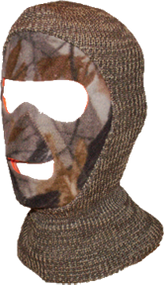 Reversible Face Mask Adv Grey/B laze