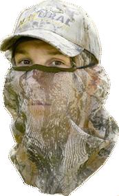 Natural Gear Mask 3/4 Natural Camo