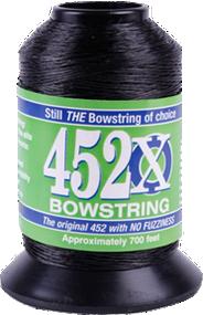 BCY 452X Bowstring Material Black 1/8# Spool