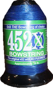 BCY 452X Bowstring Material Blue 1/8# Spool