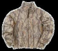 Natural Gear Full Zip Fleece Jacket Natural Camo Large