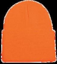 Outdoor Cap Watch Cap Heavy Weight Blaze Orange