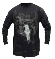 Realtree Outfitter Extreme Antler Long Sleeve Shirt Charcoal 2X