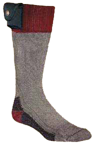 Nordic Gear Lectra Sox Battery Heated Socks Hiker Boots Style Size Large/XL - 1 Pair Socks