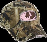 Outdoor Cap Womens Mossy Oak Breakup Infinity Frayed Hat