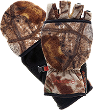 Bowhunter Convertible Gloves/ Mitten Realtree Xtra Yth Medium - 1 Pair