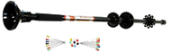 "Hot Shot Maverick 24"" Black Blowgun"