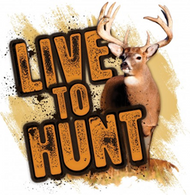 Mossy Oak Live to Hunt Series Whitetail Decal