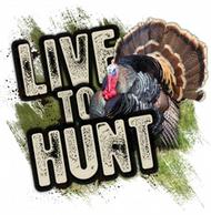 Mossy Oak Live to Hunt Series Turkey Decal