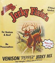 Venison Pepper Jerky Mix