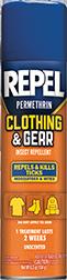 Repel Clothing & Gear Repellent 6.5oz Aerosol