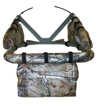 Cottonwood Weathershield Front Accessory Bag Clear Cut Camo