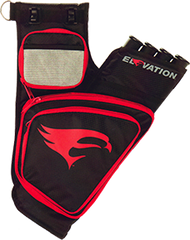 OMP Elevation Trasition Hip Quiver Black/Red Right Hand