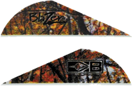 """Bohning Blazer Vanes 2"""" Camo - 100 Pieces"""