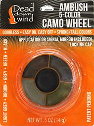DDW Ambush 5-Color Camo Wheel w/Mirror
