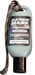 Carbomask 1.5oz Face Paint Hunter Green