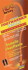 Heat Factory Footwarmer Insole - 1 Pair