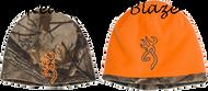 Browning All Season Reversible Beanie Realtree Xtra/Orange