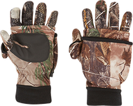 Arctic Shield Tech Finger System Gloves Realtree Xtra M - 1 Pair