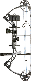 Diamond 2015 Infinite Edge Pro Bow Package Black Right Hand 5-70# Compund Bow