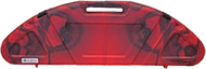 Genesis Hard Bow Case Red/Black Swirl