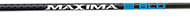 Eastman Maxima Blu RZ 250 Arrow Raw Shaft Nock Installed/Insert Loose - 1 Dozen