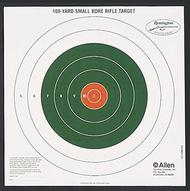 Allen/Remington 100yd Bullseye Sight-In Target - 12 Pieces