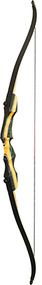 "PSE 2017 Nighthawk Takedown Recurve Bow Right Hand 62"" 25#"