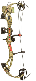 "PSE 2017 Fever RTS Package Right Hand 25"" 50# Mossy Oak Country Camo Youth Bow"