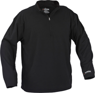 Arctic Shield Midweight Base Layer Pullover Shirt Black Large