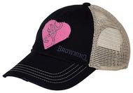 """Browning """"For Her"""" Heartbreaker Women's Cap Navy/Pink"""