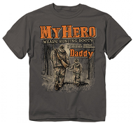 Buck Wear Youth My Hero Short Sleeve T-Shirt Large