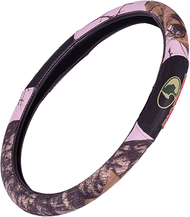 SPG Mossy Oak 2-Grip Steering Wheel Cover Mossy Oak Breakup Pink Camo